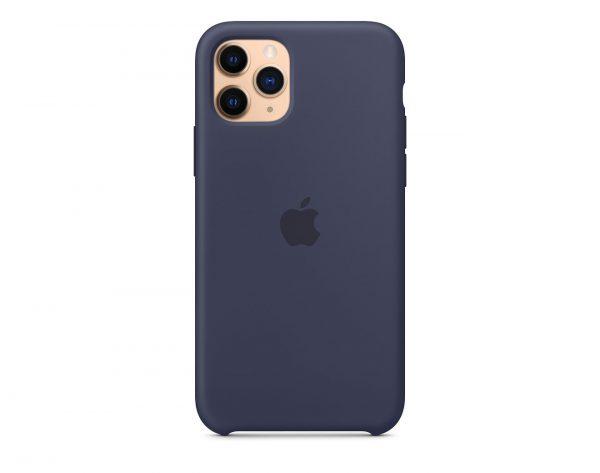 Син калъф за iPhone 11 Pro