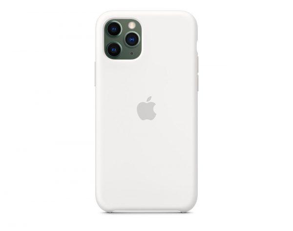 Бял калъф за iPhone 11 Pro