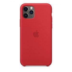 Червен калъф за iPhone 11 Pro