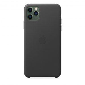 Силиконов калъф за Apple iPhone 11 Pro Max - черен