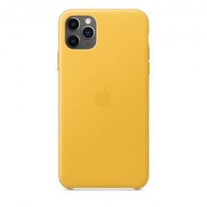 Силиконов калъф за Apple iPhone 11 Pro Max - жълт