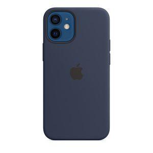 Силиконов калъф за Apple iPhone 12 mini - син