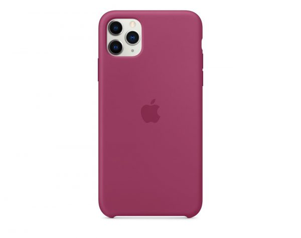 Силиконов калъф за Apple iPhone 11 Pro Max - цвят нар