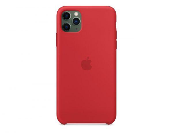 Силиконов калъф за Apple iPhone 11 Pro Max - червен