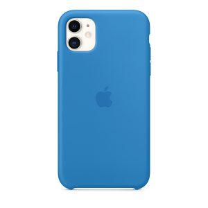 Силиконов калъф за Apple iPhone 11 - син