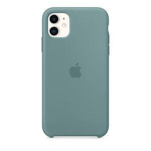 Силиконов калъф за Apple iPhone 11 - кактус