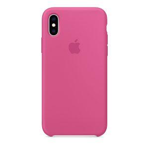 Силиконов калъф за Apple iPhone XR - розов